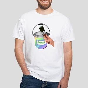 Painter White T-Shirt