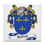 Rattray Family Crest Tile Coaster