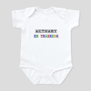 Actuary In Training Infant Bodysuit