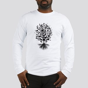 Musical Instruments Tree Long Sleeve T-Shirt