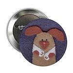 Stitched Puppy Button
