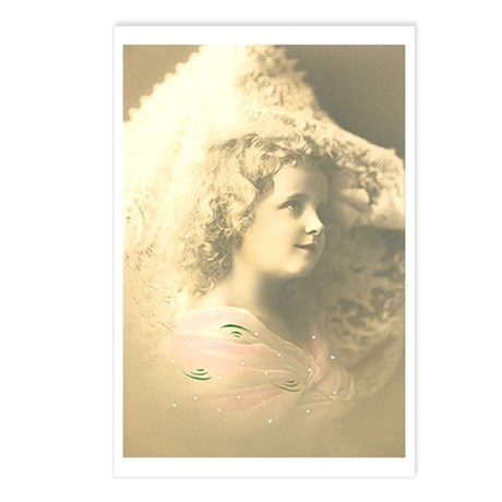 Ethereal Girl Postcards (Package of 8)