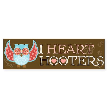 Bohemian Owl - Bumper Sticker