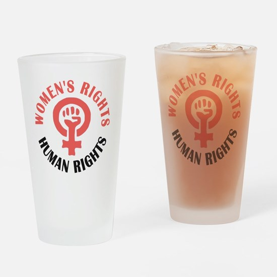 Funny Fight breast cancer research Drinking Glass
