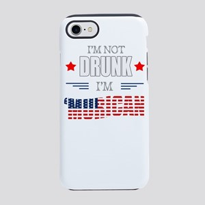 4th of July I'm Not Drun iPhone 8/7 Tough Case