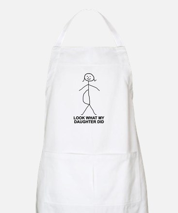 Look what my daughter did BBQ Apron