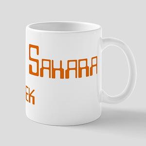 Western Sahara Geek Mug