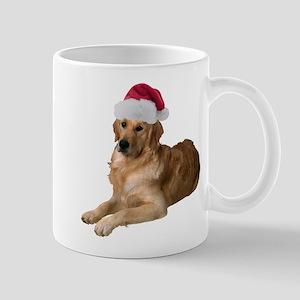Santa Golden Retriever Mug
