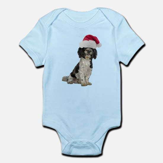 Santa Havanese Christmas Infant Bodysuit