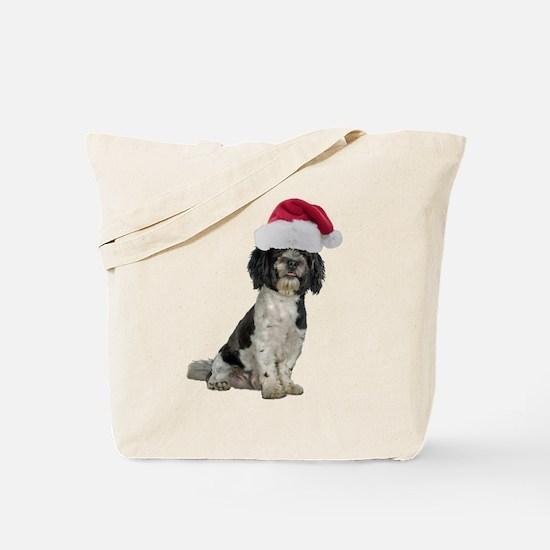 Santa Havanese Christmas Tote Bag