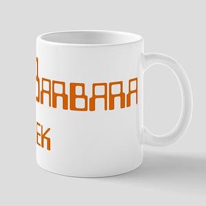 Santa Barbara Geek Mug