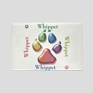 Whippet Name2 Rectangle Magnet