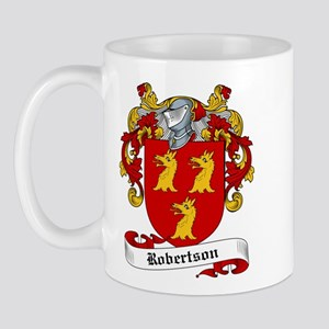 Robertson Family Crest Mug