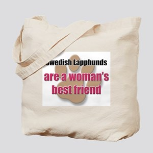Swedish Lapphunds woman's best friend Tote Bag