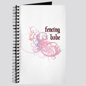 Fencing Babe Journal