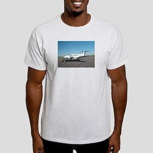 King Air B200 Ash Grey T-Shirt
