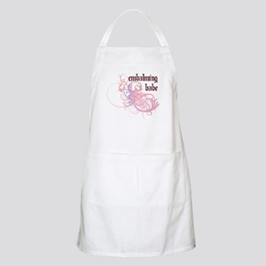 Embalming Babe BBQ Apron