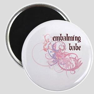 Embalming Babe Magnet