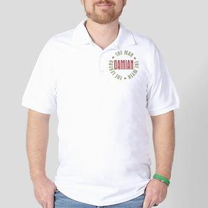 Damian Man Myth Legend Golf Shirt