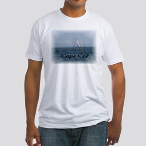 Cape Cod sail Fitted T-Shirt