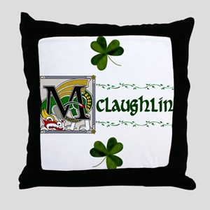 McLaughlin Celtic Dragon Throw Pillow