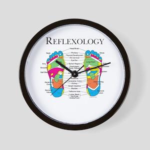 Custom Foot Reflexology Logo Wall Clock