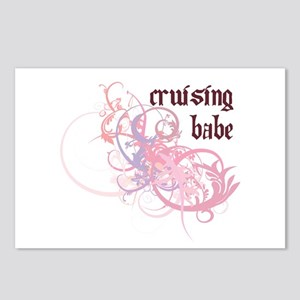 Cruising Babe Postcards (Package of 8)