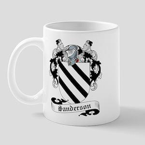 Sanderson Family Crest Mug