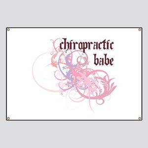 Chiropractic Babe Banner