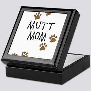 Mutt Mom Keepsake Box