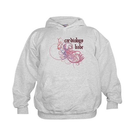 Cardiology Babe Kids Hoodie