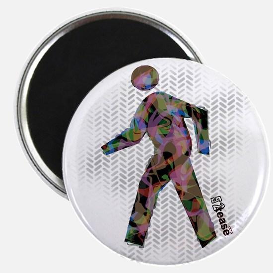 "Graphic Crosswalk Person 2.25"" Magnet (10 pack)"