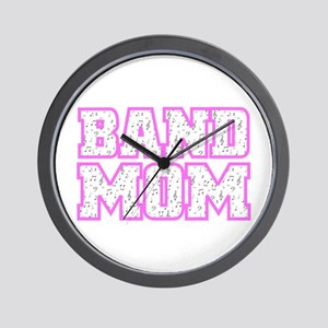Varsity Band Mom Wall Clock