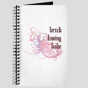 Brick Laying Babe Journal