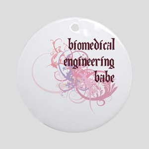 Biomedical Engineering Babe Ornament (Round)