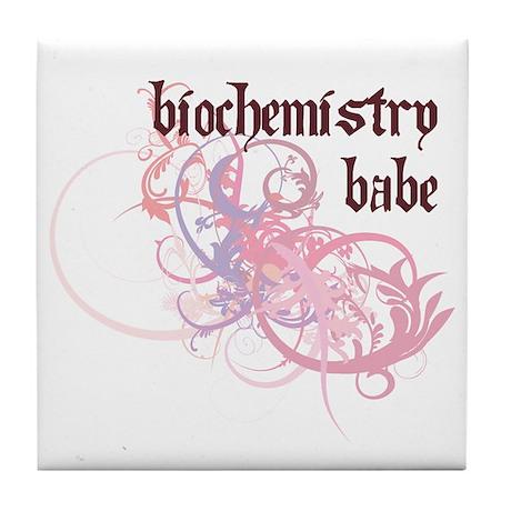 Biochemistry Babe Tile Coaster