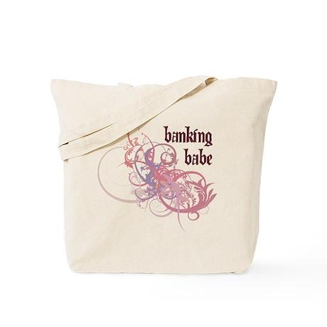 Banking Babe Tote Bag