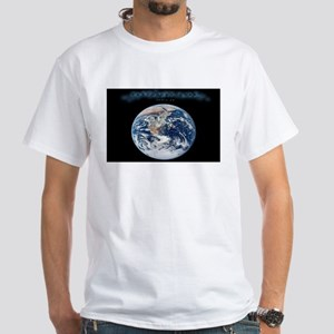 Earth Day Earthrise White T-Shirt
