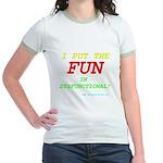 I'm FUN! Jr. Ringer T-Shirt