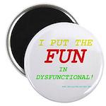 """I'm FUN! 2.25"""" Magnet (100 pack)"""