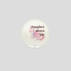 Atmospheric Sciences Babe Mini Button