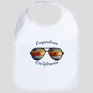 California - Carpinteria Baby Bib