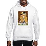 KISS/PBGV8+Westie1 Hooded Sweatshirt