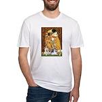 KISS/PBGV8+Westie1 Fitted T-Shirt