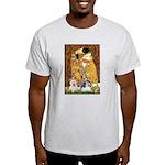 KISS/PBGV8+Westie1 Light T-Shirt