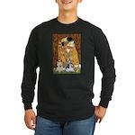 KISS/PBGV8+Westie1 Long Sleeve Dark T-Shirt