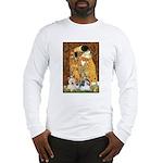 KISS/PBGV8+Westie1 Long Sleeve T-Shirt