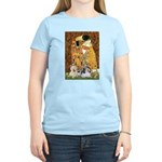 KISS/PBGV8+Westie1 Women's Light T-Shirt