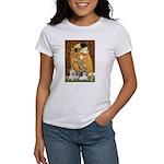 KISS/PBGV8+Westie1 Women's T-Shirt