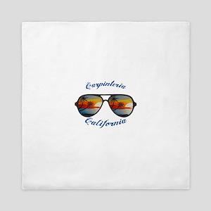 California - Carpinteria Queen Duvet